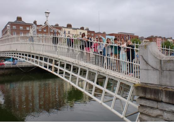 Curso de verano en Dublín con estancia en familias