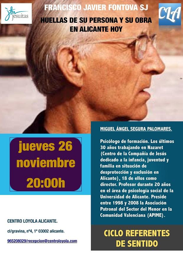 La obra del Padre Fontova explicada por Miguel Ángel Segura.