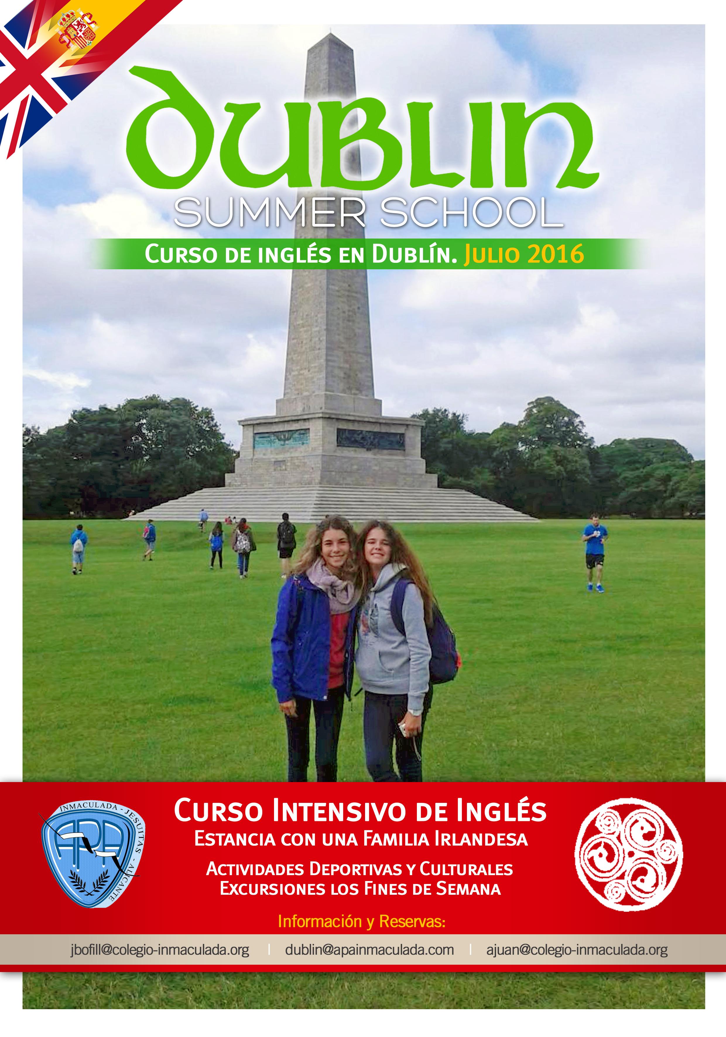 Inscríbete al viaje a Dublín del 7 al 28 de julio. Practice your English¡¡