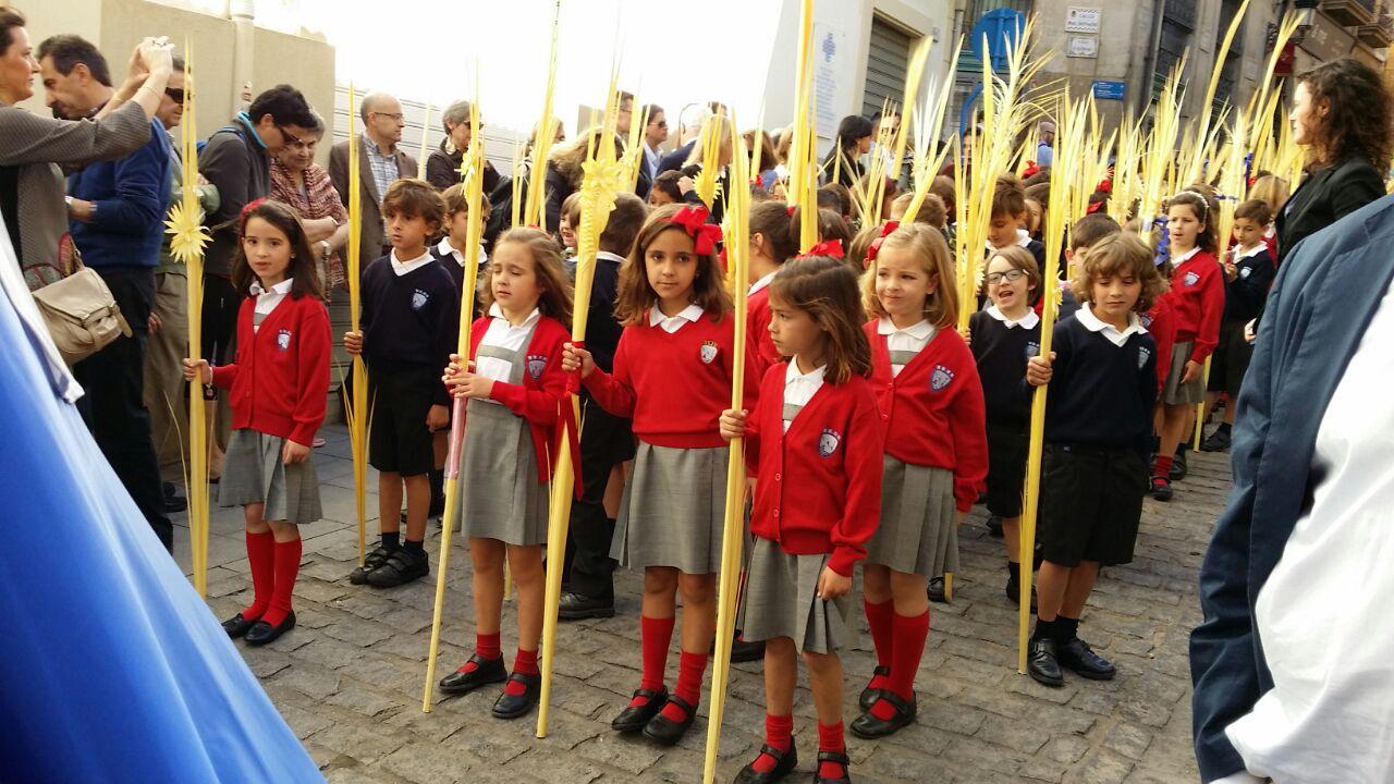 Actos de Semana Santa organizados desde Pastoral del Colegio.