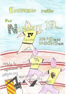 Sábado 19 de marzo. !Corremos juntos por Nazaret¡