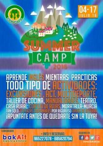 """4 al 17 de julio.""""Concapa Summer Camp"""" para inmersión lingüística en inglés."""