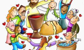 Eucaristía familiar los domingos en el colegio