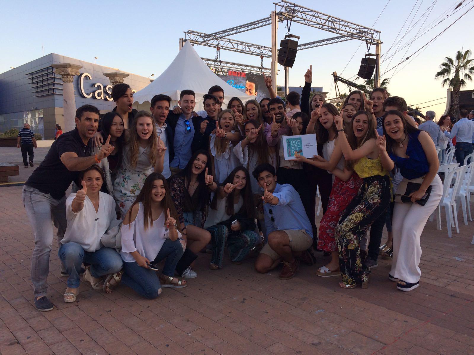 Premio al corto de los chicos de 4º ESO en el Festival EducaAcción