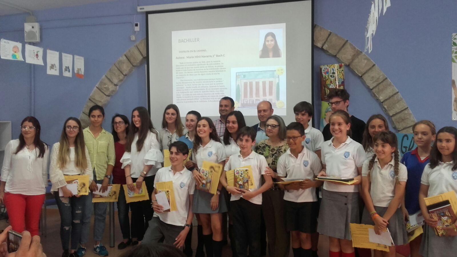 Entrega de premios XVI Concurso Literario del Colegio