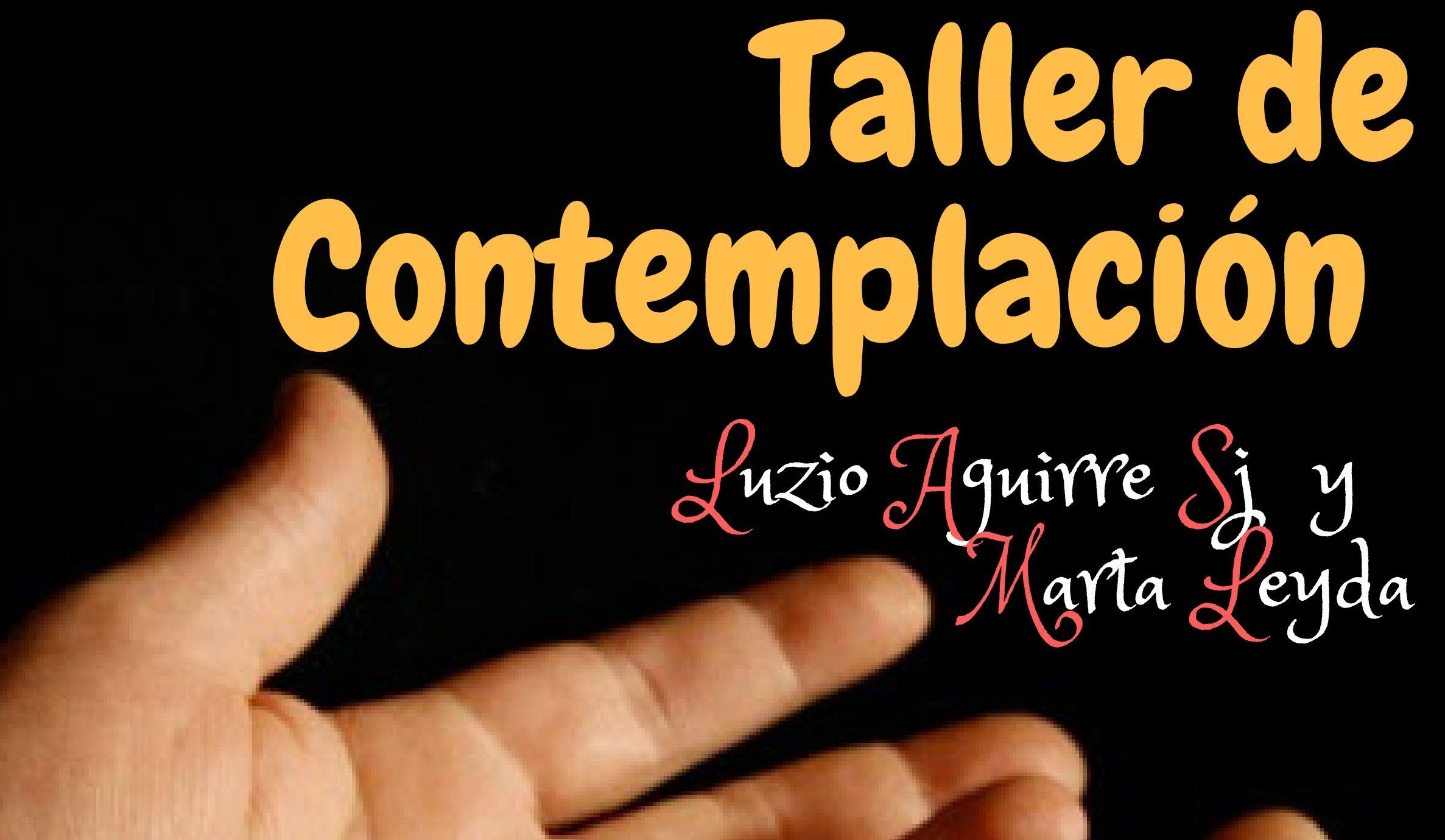 """Taller de contemplación """"Silencio en la ciudad"""" en el Centro Loyola"""