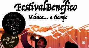 """Festival """"Música a… Tiempo"""" para apoyar a la Asociación """"El Cerezo"""""""
