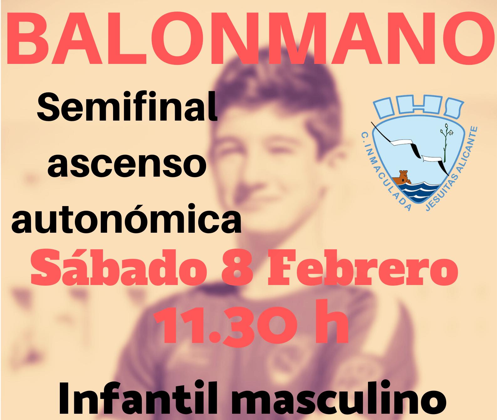 Semifinales de la categoría autonómica de Balonmano Cadete e Infantil