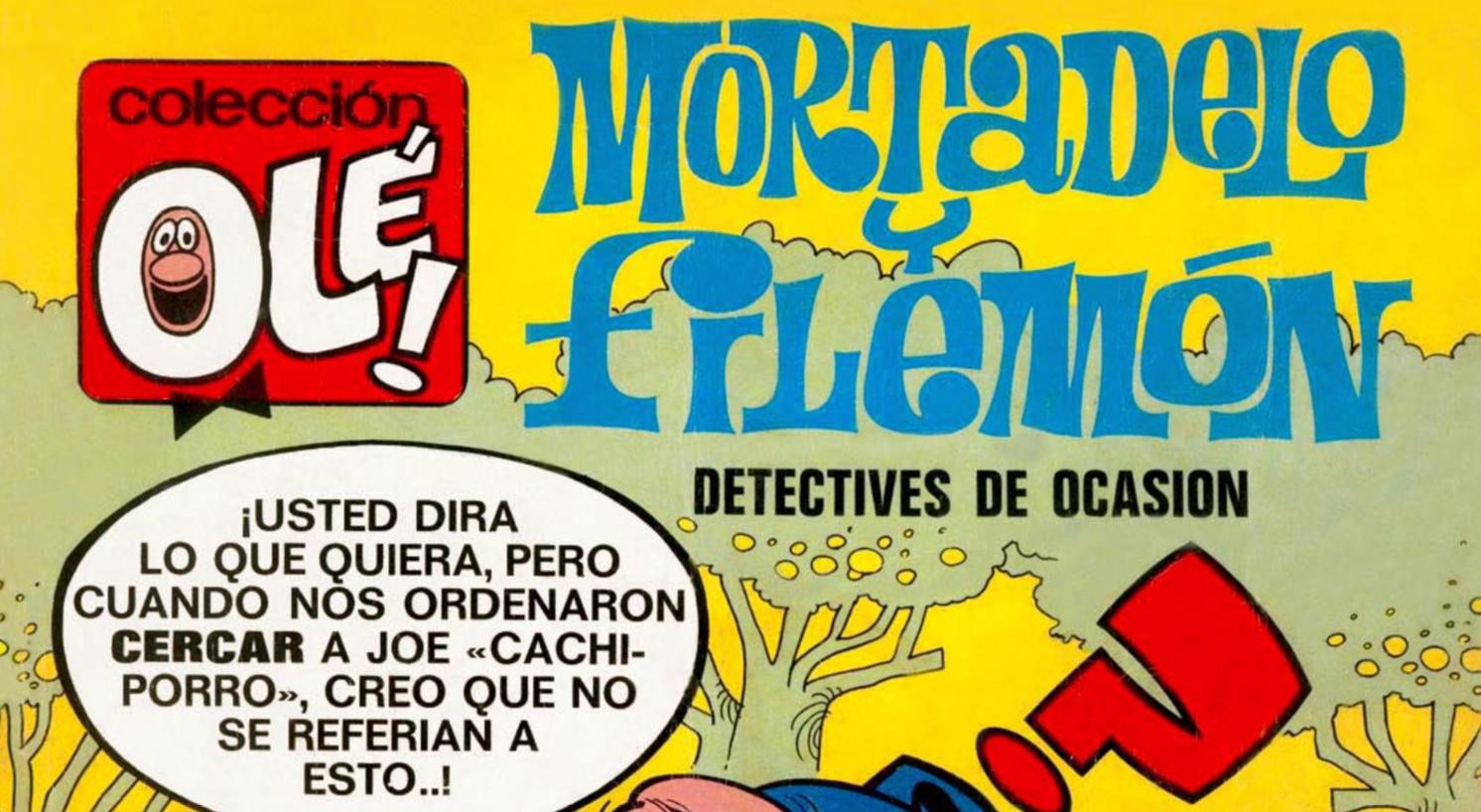 Vuelve a disfrutar de todos los cómics de la Colección OLÉ!