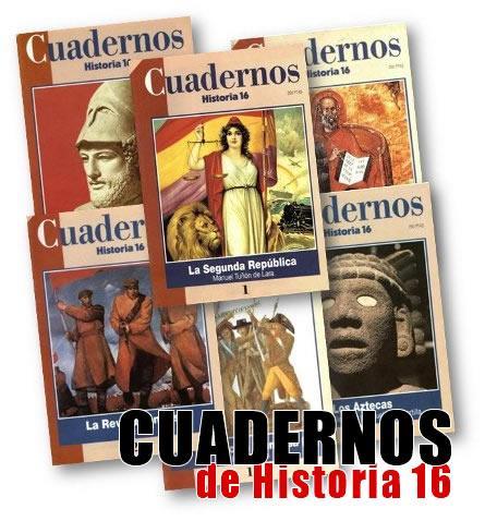 "Descarga gratis ""Cuadernos de historia 16"""
