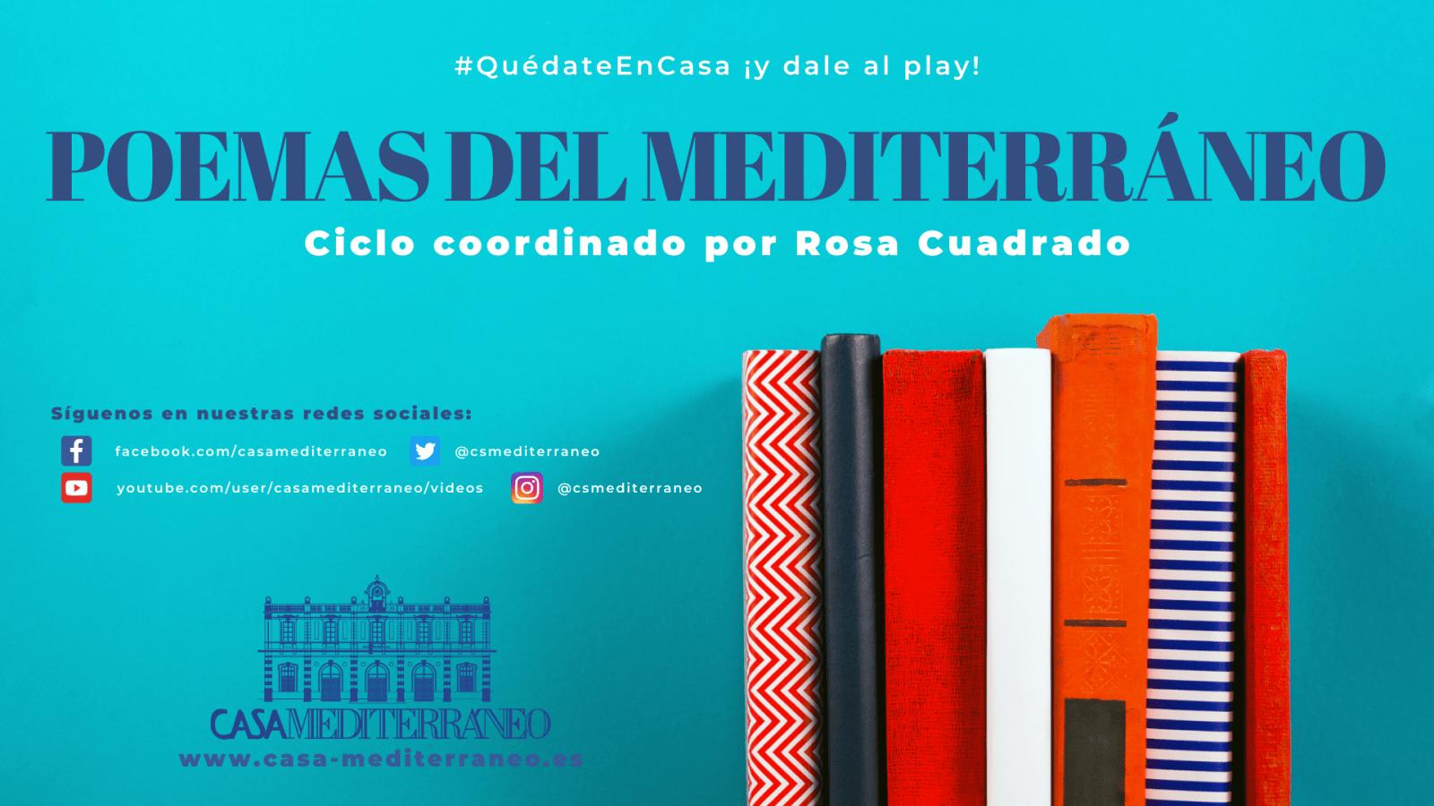 """""""Poemas del Mediterráneo"""" con Raquel Lanseros"""