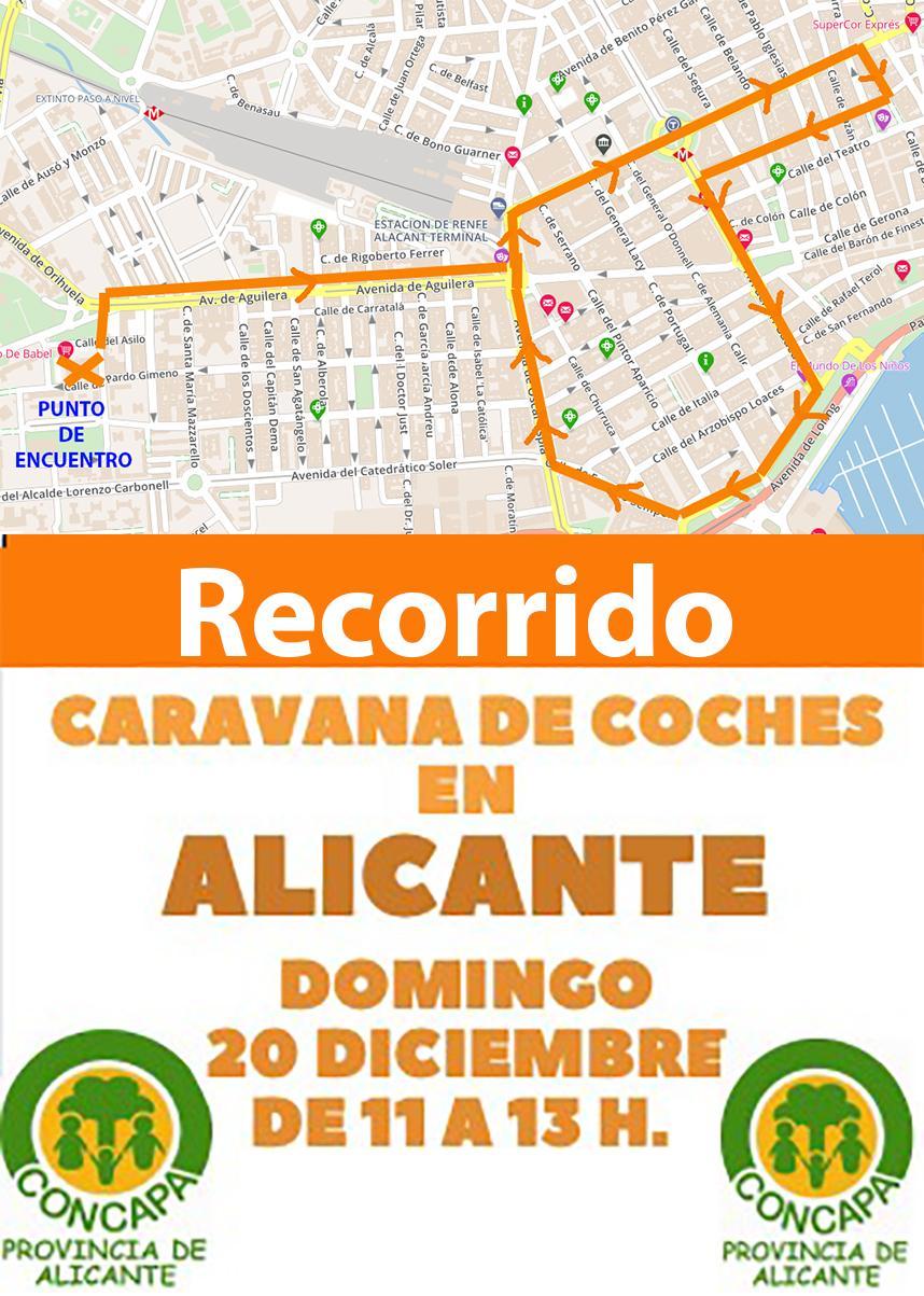 Domingo 20 de diciembre, 11 horas. Manifestación en coches contra la Ley Celaa