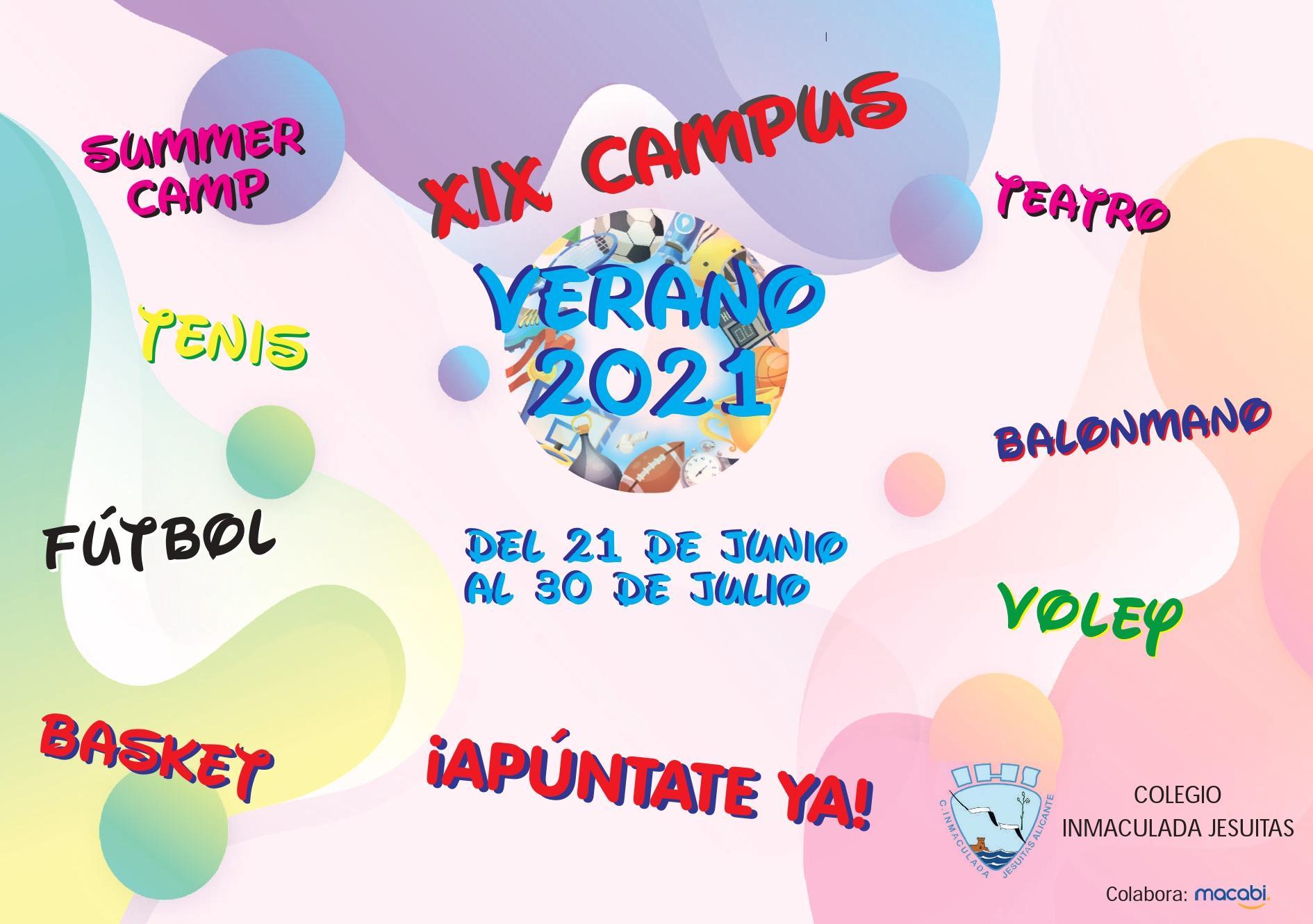 Campus de verano del colegio
